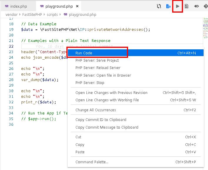 Code Runner Extension