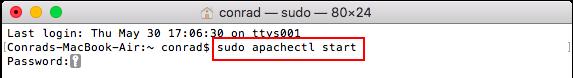 Start Apache