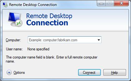 Remote Desktop Connection (RDC)
