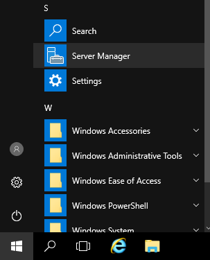 Windows Server Manager Icon